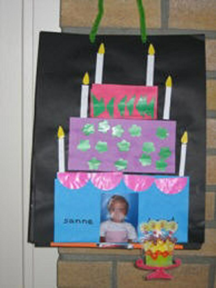 * Verjaardagstaart!