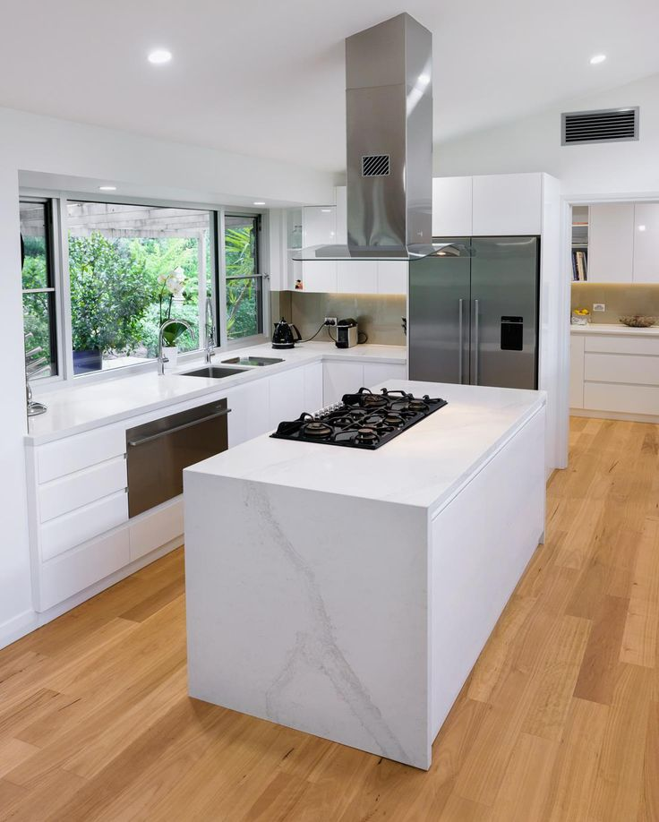 Calacatta Marble Kitchen: 89 Best Caesarstone Calacatta Nuvo Images On Pinterest
