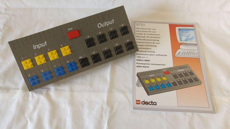 Vintage Lego Dacta 9751 - Control Lab & Manual - No Power Cable - 2954 | eBay