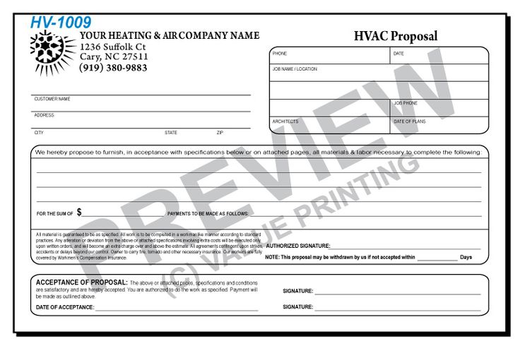 51 best HVAC Forms images on Pinterest Flat rate, Free design and