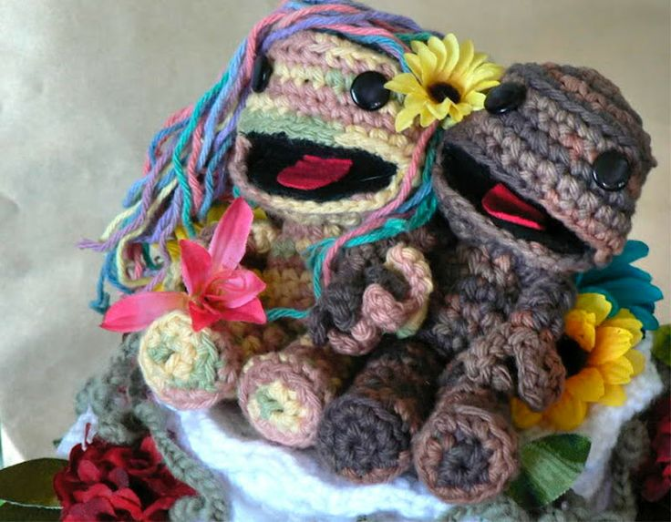Sack Boy & Girl...: Creative Funny, Big Planets, Geek Knits, Planets Cakes, Cakes Toppers, Wedding Cakes, Sacks Boys, Offices Creative, Knits Cakes