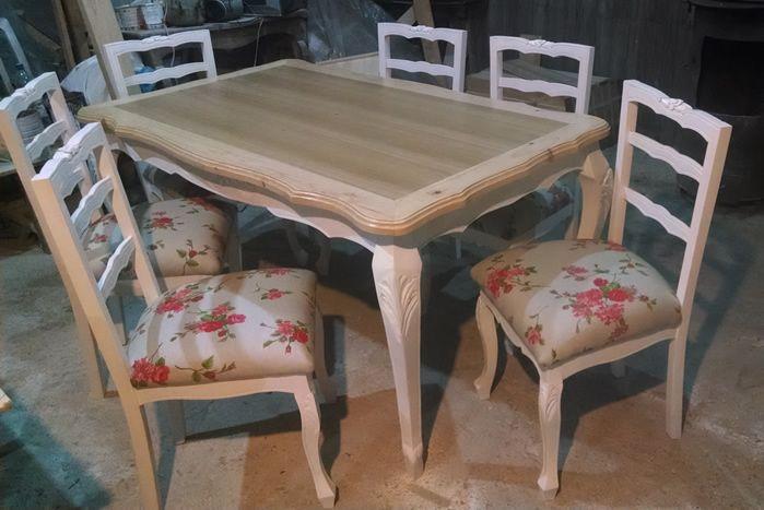 Comedor normando en coigue muebles normando y - Comedores estilo vintage ...