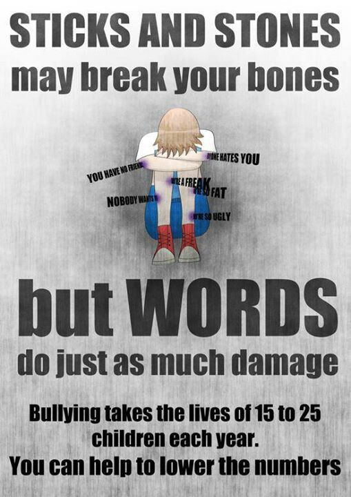 17 Best images about Bulling poster ideas on Pinterest ...