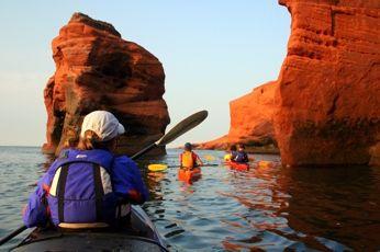 Kayak around the Magdalen Islands
