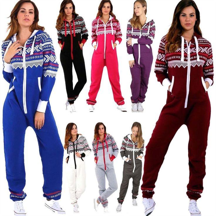 #Womens #Aztec #Onezie #Jumpsuits #Ladies #Hooded #ZipUp #AllInOne #Playsuit #Tracksuit #Pyjamas #UK #FW #Casual #Xmas https://www.ebay.co.uk/itm/302531242501?roken=cUgayN&soutkn=jhfQO1 via @eBay  #Playsuit
