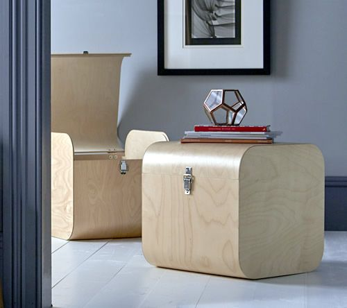 Handmade Birch Storage Cube - Home Storage Systems From Store