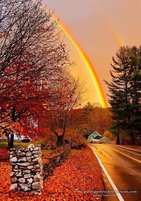 Thirty-Eight Breathtaking Examples of Fall in New England