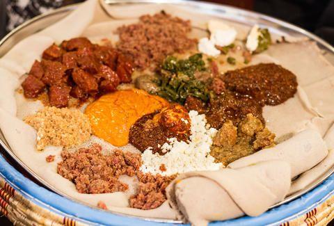 Rosalind S Ethiopian Restaurant A Los Angeles Ca Restaurant Food Ethiopian Food Travel Food