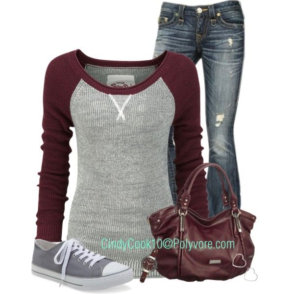 It's a cool windy day here in MO, created by cindycook10 on Polyvore