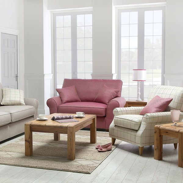 The Sebastien sofa and chair collection just screams spring
