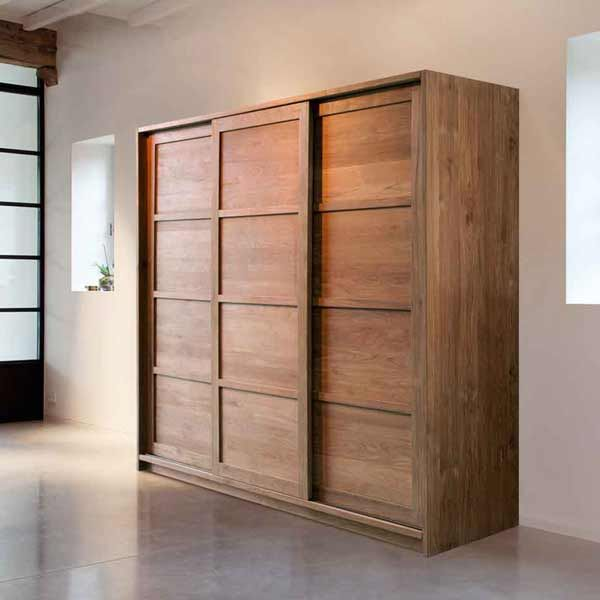 Teak wood Wardrobe Malaysia  #Teakwood #Wardrobe #Furniture #Wood #Designerfurniture #Designer #Renovation #Idea #IndoorGome
