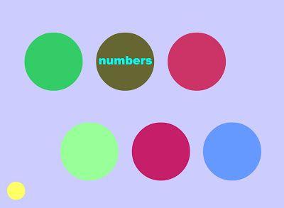 Es un programa que te ayuda a adquirir y repasar vocabulario y a pronunciar correctamente palabras en inglés. El menú  tiene seis círculos. Si sitúas el cursor encima de uno de ellos aparecerá su contenido: colores, números, formas, animales, escuela y cuerpo humano