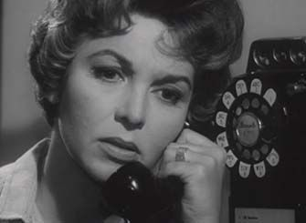 0 Beverly Garland on the pay phone in Stark Fear (December 1, 1962)