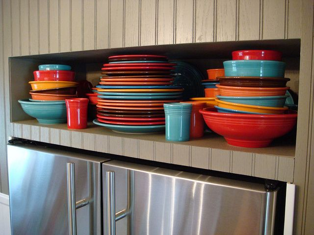 Great Fiestaware color combo - I think itu0027s Turquoise Tangerine Persimmon Chocolate and & 48 best Fiestaware images on Pinterest | Fiesta ware Homer laughlin ...