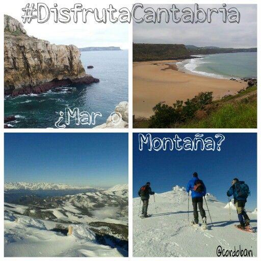 Mar o Montaña? #disfrutaCantabria