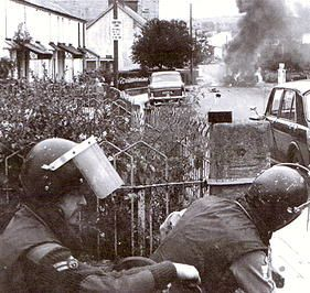 Castlederg,County Tyrone,Northern Ireland.Ulster's most bombed small town.