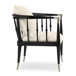 Black Beauty : Caracole Upholstery : Chairs : uph-chawoo-54B | Caracole Furniture