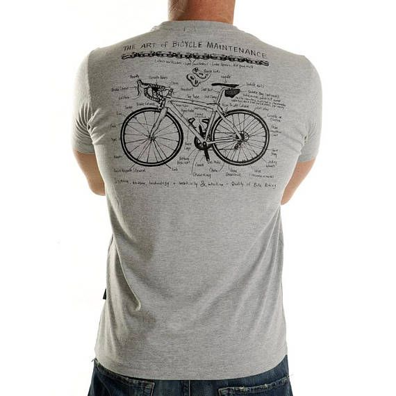 A handy pencil sketch diagram labelling bicycle parts and what should be packed in your saddlebag and where to lube your chain. Printed on a dark coloured tee shirt that wont show oil and grease when you wipe your dirty hands. The Cycology Clothing brand was borne out of frustration