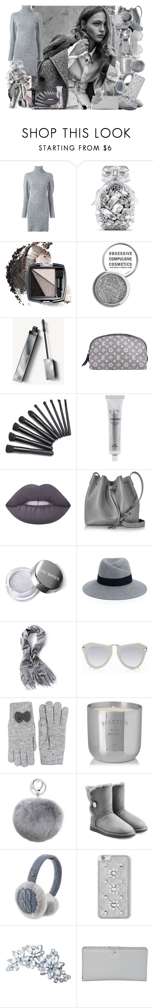 """""""Faded"""" by colourlover24 ❤ liked on Polyvore featuring Lala Berlin, Victoria's Secret, Avon, Obsessive Compulsive Cosmetics, Burberry, Louis Vuitton, Meraki, Lime Crime, Lancaster and Maison Michel"""