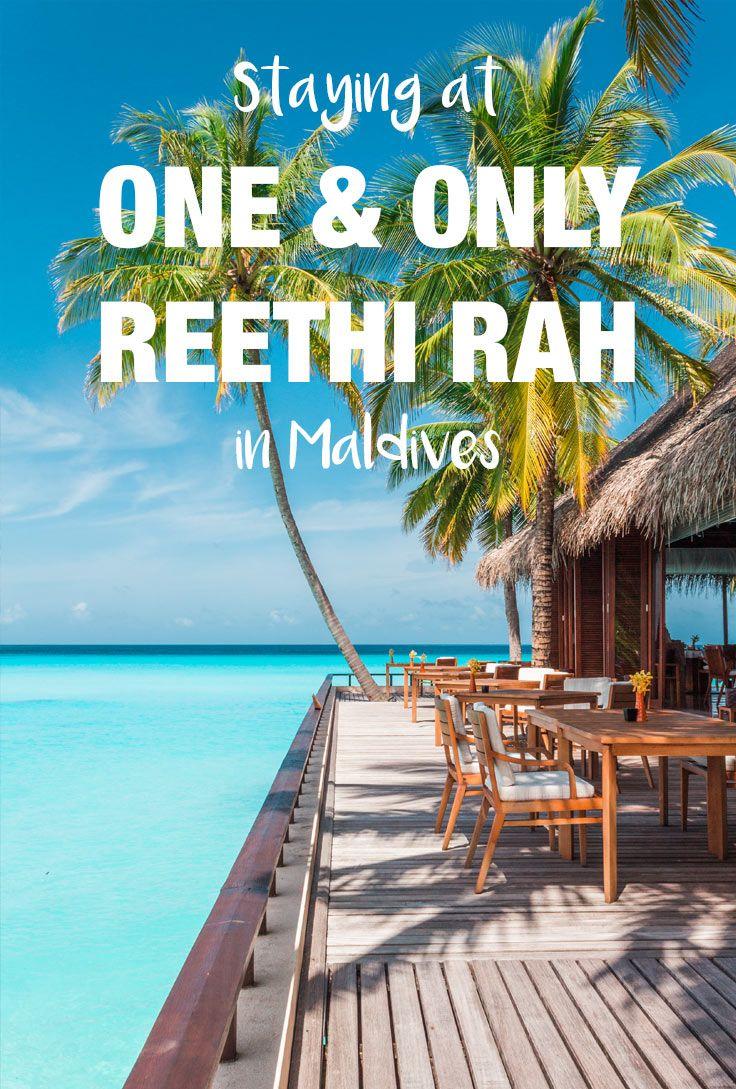 One Only Reethi Rah resort in  Maldives