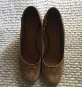 Sapato anabela - arezzo - salto 6,5cm