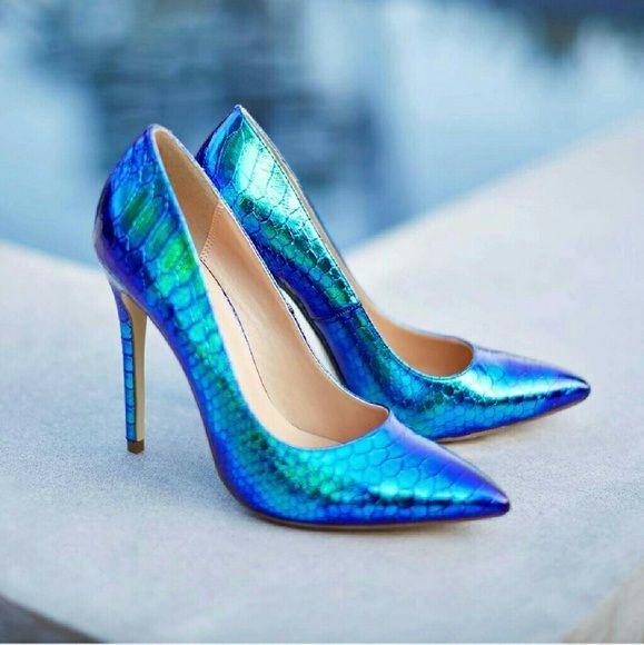 Hily Designs: Con estos zapatos de sirena te sentirás como una princesa de cuento de hadas
