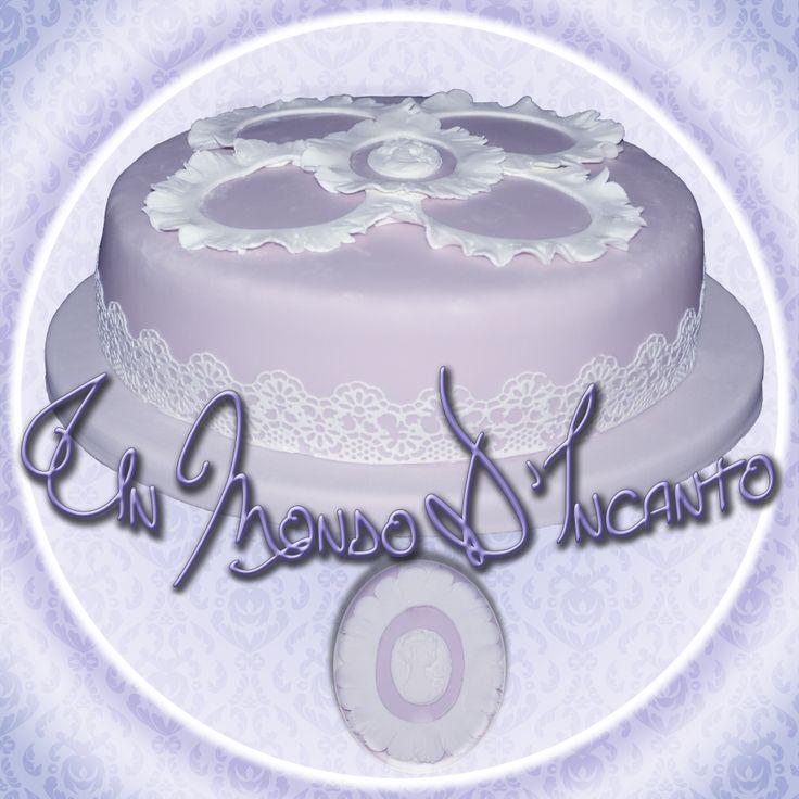 "Torta di Compleanno ""Raffinata"" per Wanda."