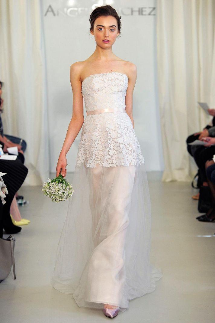 127 best Angel Sanchez images on Pinterest | Wedding frocks, Short ...