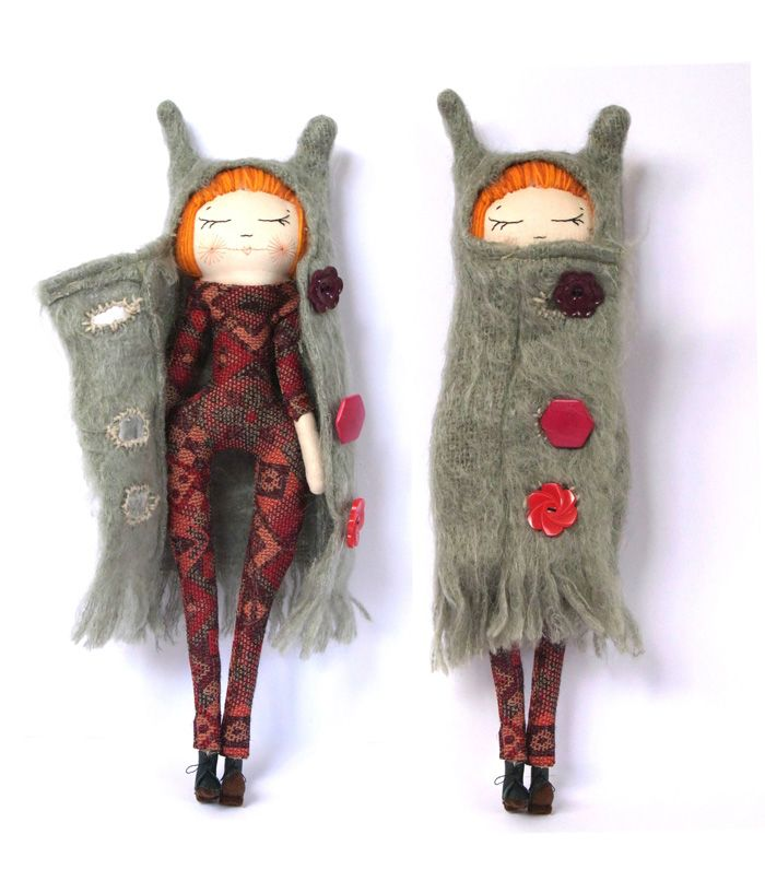 the Cat in the Shoe doll This is a really great coat.