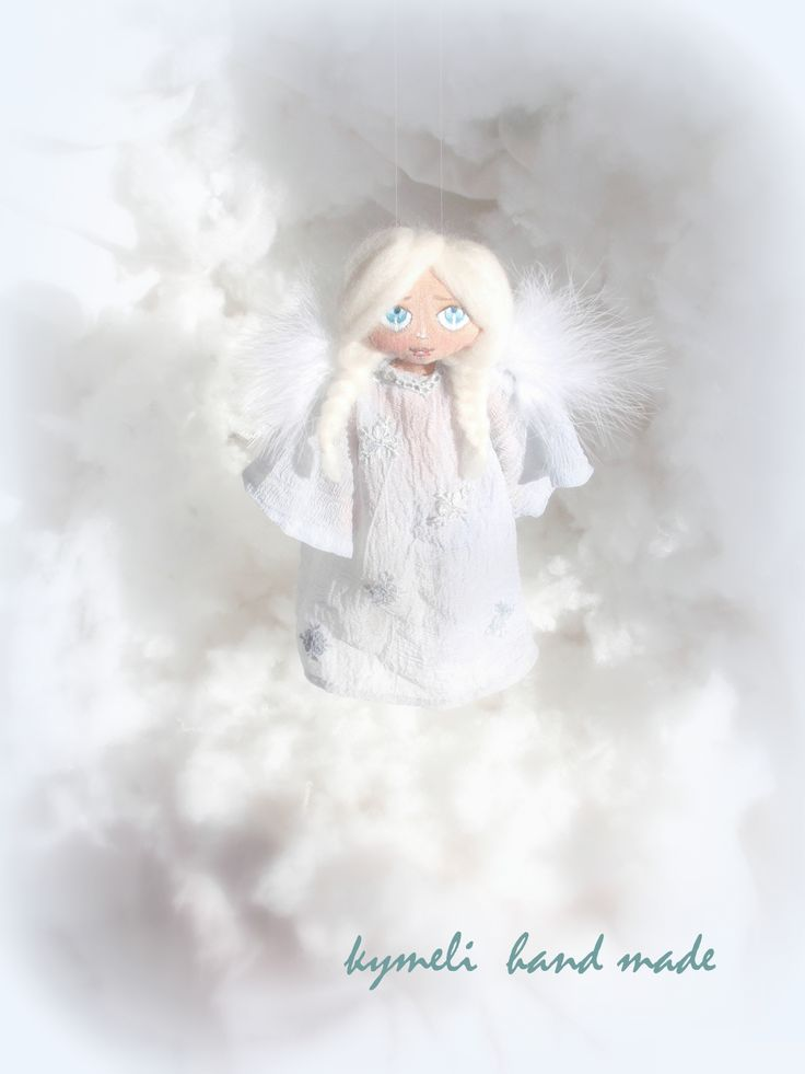 Angel OOAK Art Doll by kymeli