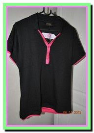 Ladies Golf Shirt Front View