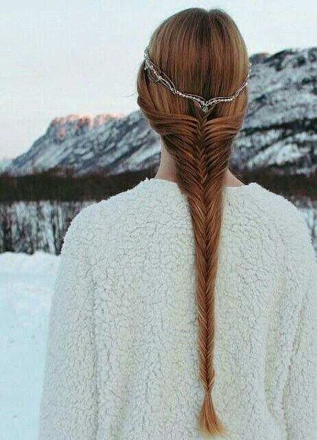 Fairytale Princess Braided Hairstyle | ~ Viking, Celtic ...