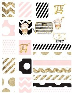 Free Wink+Pink Planner Set - Very cute set of lashes too!