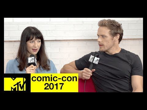 'Outlander's' Sam Heughan & Caitriona Balfe on Season 3 | Comic-Con 2017 | MTV - YouTube