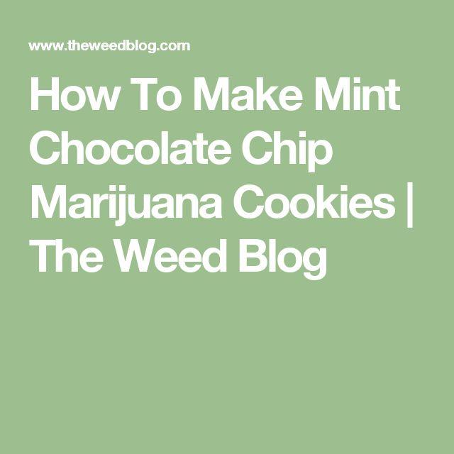 How To Make Mint Chocolate Chip Marijuana Cookies   The Weed Blog