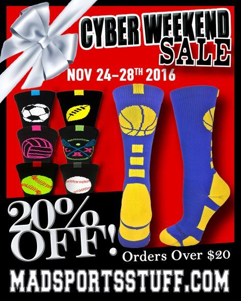 Check out our great Black Friday and Cyber Monday Deals below!!  Use MAD20CYBER at checkout for 20% off your entire purchase of $20 or more!
