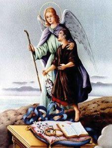 """História de São Rafael Arcanjo afael significa """"Deus curou"""". Apesar de uma aparição discreta ela é tão importante quanto os demais arcanjos. É considerado o guardião da saúde e da cura física e espiritual e é o padroeiro dos cegos, médicos, sacerdotes, viajantes, soldados e escoteiros. São Rafael foi o único, segundo as Escrituras, que assumiu a forma humana e viveu entre os seres humanos durante alguns meses. É o portador da virtude da cura, do dom da transformação. Conduz a humanidade…"""