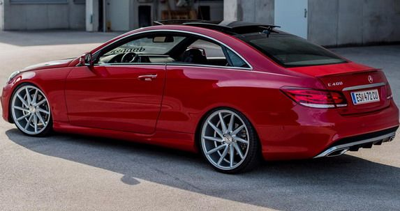 Mercedes E400 Coupe Vossen | Mercedes e class coupe ...