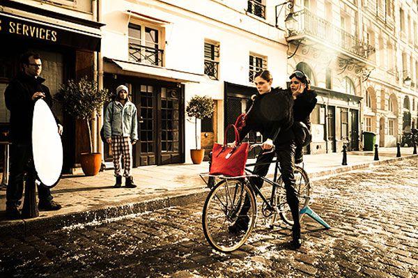 Коко Роша в новой рекламной кампании Longchamp