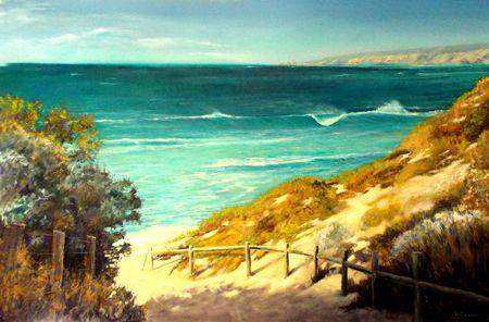 Painting: 'Ocean Blue'