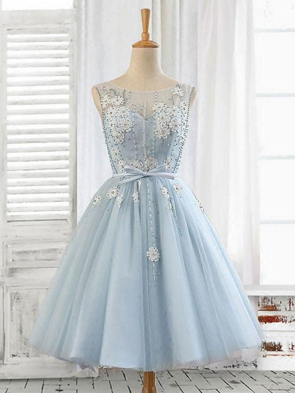 Material: tulle, beads Size: US 2, US 4, US 6, US 8, US 10, US 12, Custom-size US 2 Bust(inch)32 1/2 Waist(inch)25 1/2 Hips(inch)35 3/4 Shoulder to Floor(inch)58 US 4 Bust(inch)33 1/2 Waist(inch)26 1/2 Hips(inch)36 3/4 Shoulder to Floor(inch)58 US 6 Bust(inch)34 1/2 Waist(inch)27 1/2 Hips(inch)37 3/4 Shoulder to Floor(inch)59 US 8 Bust(inch)35 1/2 Waist(inch)28 1/2 Hips(inch)38 3/4 Shoulder to Floor(inch)59 US 10 Bust(inch)36 1/2 Waist(inch)29 1/2 Hips(inch)39 3/4 Shoulder to Floor(inch)60… Cute Prom Dresses, Event Dresses, Short Dresses, Dress Prom, Light Blue Homecoming Dresses, Light Blue Dresses, Dresses Dresses, Party Dresses, Wedding Dresses
