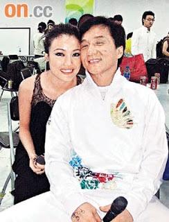 Joan Lin yang juga seorang aktres yang sudah bersara