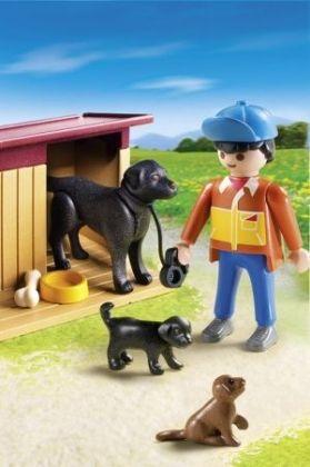 Playmobil Σπιτάκι Σκύλου Με Κουταβάκια (5125)- 8.99
