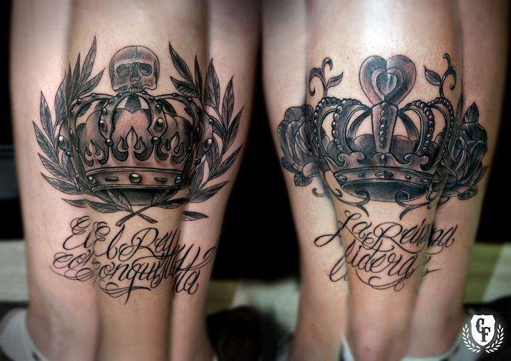 Tatuaje-corona-rey-reina-calavera-laurel-rosa-tattoo-crown-king-queen-skull-rose.jpg (1754×1240)