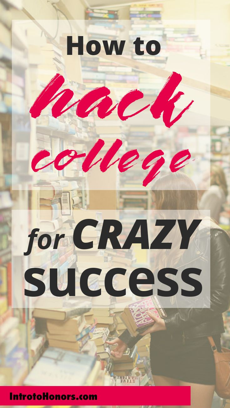 College tips for success