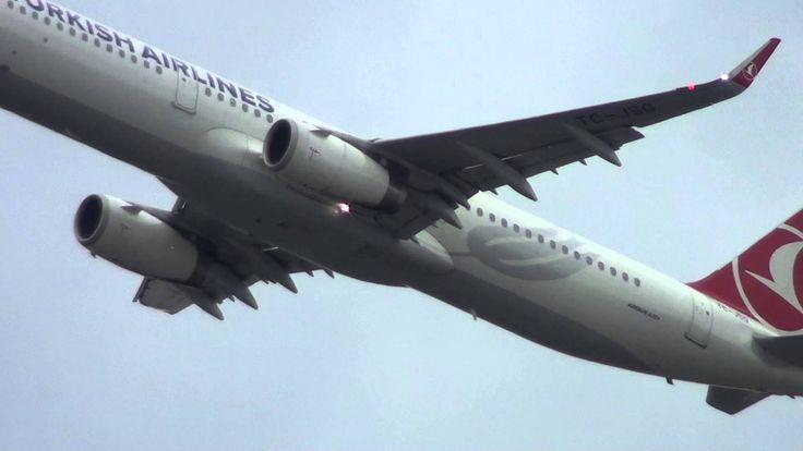 Turkish Airlines Airbus 321(WL) TC-JSG Take Off Frankfurt am Maim FRA
