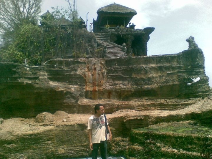 It called as Tanah Lot