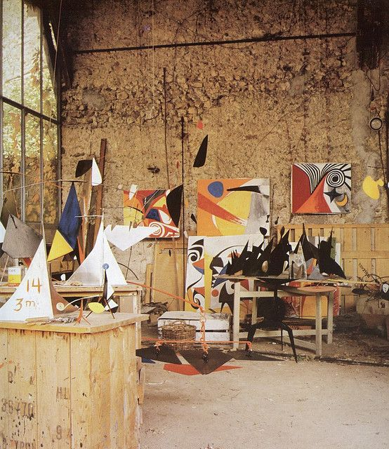 Alexander Calder Home and Studio.. by Old Chum, via Flickr: Alexander Calder, Artists Studios, Studios Design, Art Studios, Famous Artists, Homes, Home Studios, Calder Studios, Studios Photo