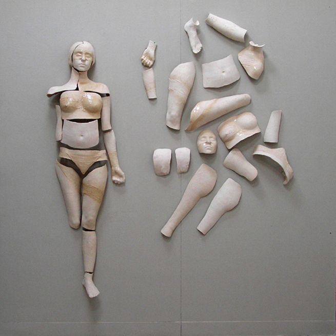 Ceramics figurative sculpture - Elysium by Lucima Yor