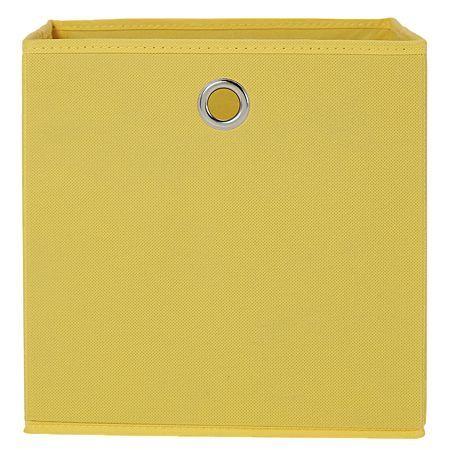 Living & Co Kids Storage Box Yellow 27cm
